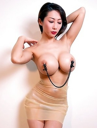 Nude and sexy Asian boobs