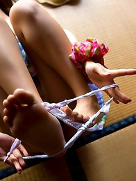 Passionate striptease from Japanese angel Yu Namiki